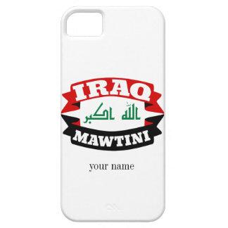 Iraq mi bandera de la bandera de la patria funda para iPhone SE/5/5s