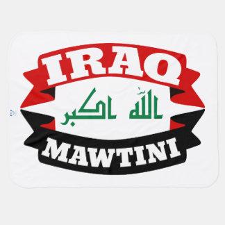 Iraq My Homeland Banner Flag Baby Blanket