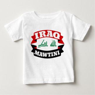 Iraq My Homeland Banner Flag Baby T-Shirt