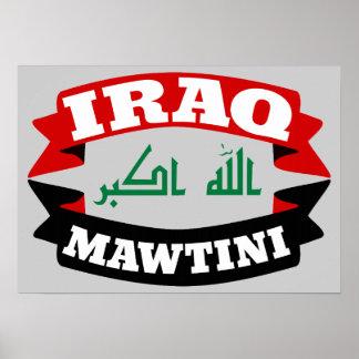 Iraq My Homeland Banner Flag Poster