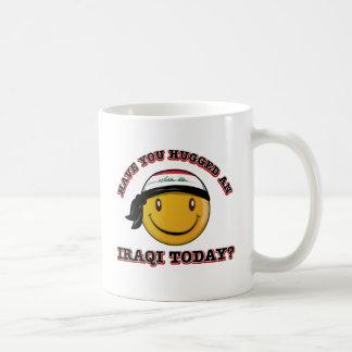 Iraq smiley flag designs coffee mug