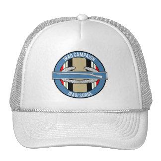 Iraq Surge CIB Trucker Hats