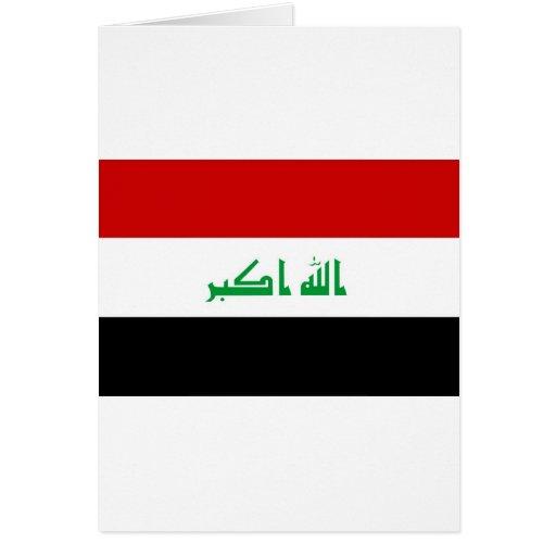Iraq Tarjeta De Felicitación