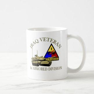 Iraq Vet - 1st AD Coffee Mug