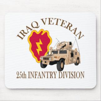 Iraq Vet 25th ID Humvee Mouse Pad
