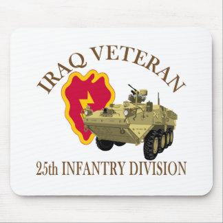 Iraq Vet 25th ID Stryker Mouse Pad