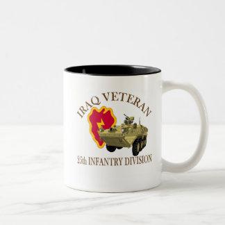 Iraq Vet 25th ID Stryker Two-Tone Coffee Mug