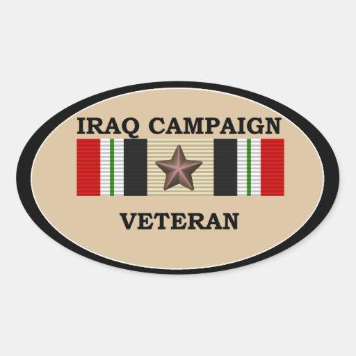 Iraq Veteran 1 ICS Sticker