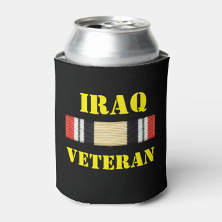 IRAQ VETERAN CAN COOLER