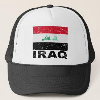 Iraq Vintage Flag Trucker Hat