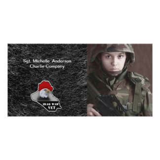 Iraq War Military Veteran Card