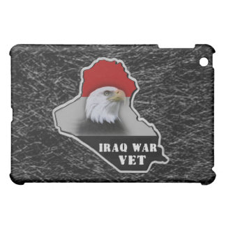 Iraq War Military Veteran iPad Mini Cases