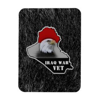 Iraq War Military Veteran Magnet