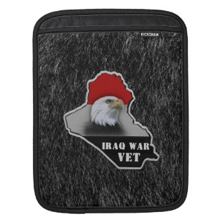 Iraq War Military Veteran Sleeves For iPads