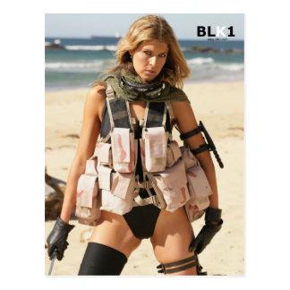 Iraq War Postcard - Swimsuit Model VJ7T5810