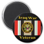 """Iraq War Veteran """"Army"""" Magnet"""