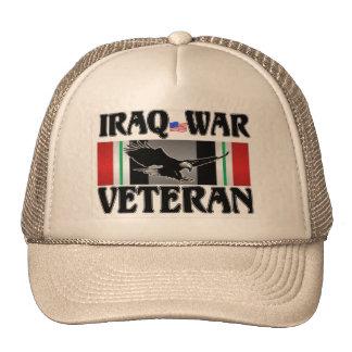 IRAQ WAR VETERAN TRUCKER HATS