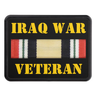 IRAQ WAR VETERAN HITCH COVER