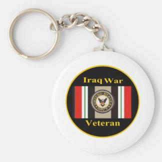 """Iraq War Veteran """"Navy"""" Keychain"""