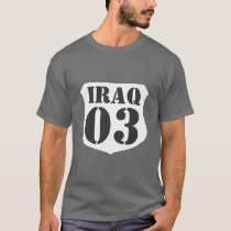 Iraq war veteran t-shirt - Customizable by year