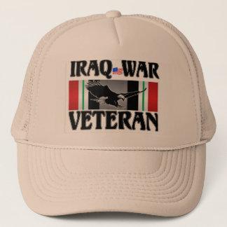 IRAQ WAR VETERAN TRUCKER HAT