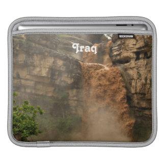 Iraq Waterfall iPad Sleeve
