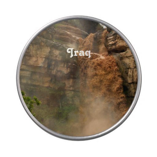 Iraq Waterfall Jelly Belly Candy Tin