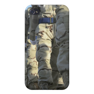 Iraqi air force recruits march cover for iPhone 4