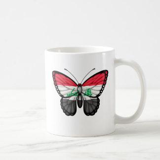 Iraqi Butterfly Flag Coffee Mugs