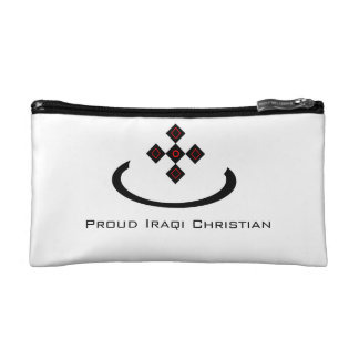 "Iraqi Christian ""Noon"" symbol Cosmetic Bag"