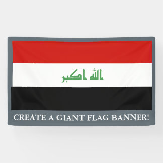 Iraqi Flag Banner
