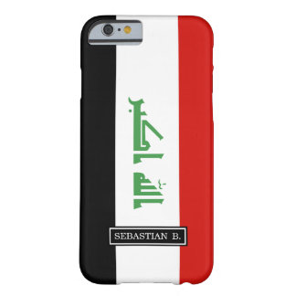 Iraqi Flag Barely There iPhone 6 Case
