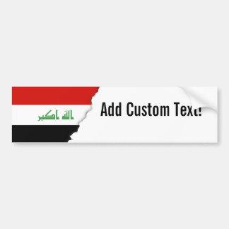 Iraqi Flag Bumper Sticker