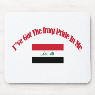 iraqi flag designs mouse pad
