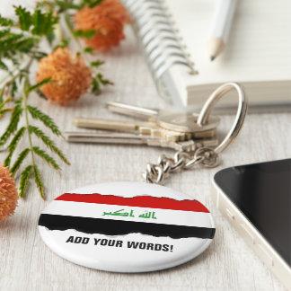 Iraqi Flag Keychain