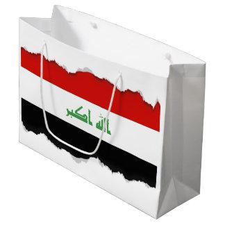 Iraqi Flag Large Gift Bag
