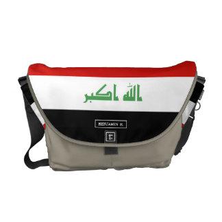 Iraqi Flag Messenger Bag