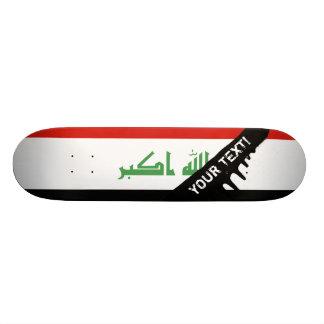 Iraqi Flag Skateboard Deck