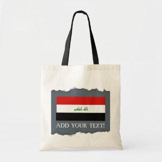 Iraqi Flag Tote Bag