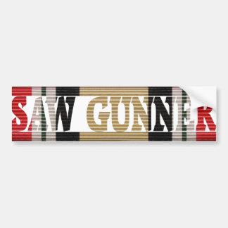 Iraqi Freedom CMR Saw Gunner Bumper Sticker