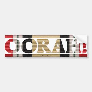 Iraqi Freedom OORAH! CMR Bumper Sticker