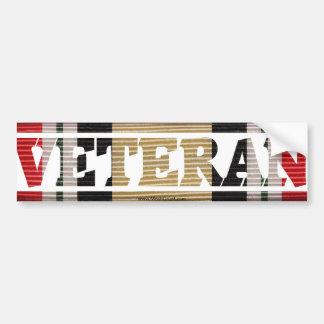 Iraqi Freedom Veteran  CMR Bumper Sticker