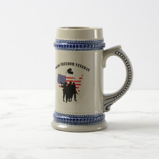 Iraqi Freedom Veteran Coffee Mugs