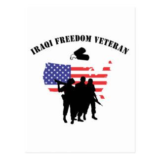 Iraqi Freedom Veteran Postcard