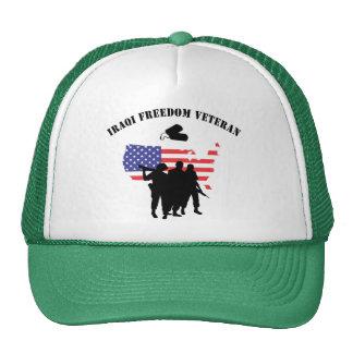 Iraqi Freedom Veteran T-Shirt Trucker Hat