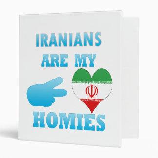 Iraqis are my Homies Vinyl Binder