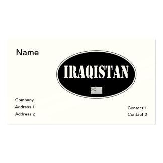 Iraqistan Business Card