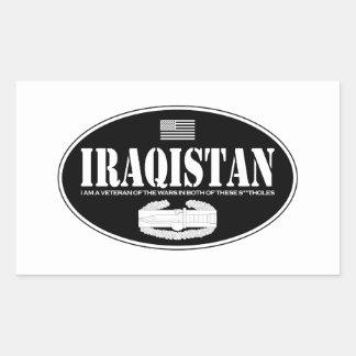Iraqistan CAB Rectangular Sticker
