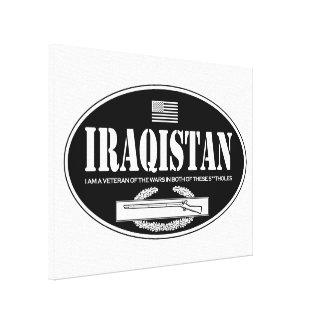 Iraqistan CIB Canvas Print
