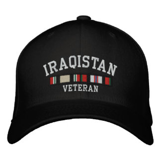 Iraqistan Embroidered Hat